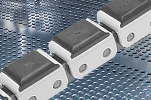 Plastic clips for roller chains