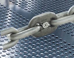 Round link chain - Stainless steel